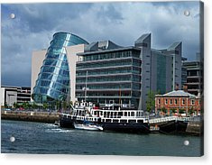 Mv Cill Airne River Restaurant Acrylic Print by Panoramic Images