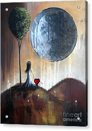 My Bff By Shawna Erback Acrylic Print by Shawna Erback
