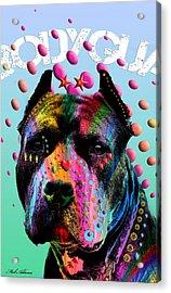 My Bodyguard Acrylic Print by Mark Ashkenazi