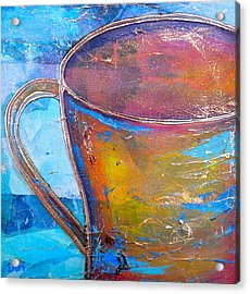 My Cup Of Tea Acrylic Print by Debi Starr