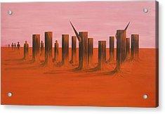 My Dreamtime 3 Acrylic Print by Tim Mullaney