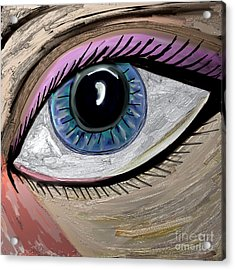 My Eye Acrylic Print by Kim Peto