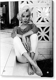 Marilyn Monroe  Acrylic Print by Retro Images Archive