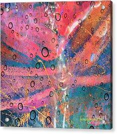My God Is Here Acrylic Print by Fania Simon