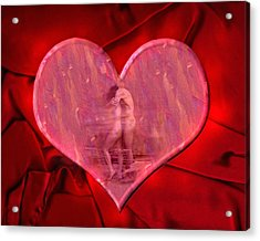 My Heart's Desire 2 Acrylic Print by Kurt Van Wagner