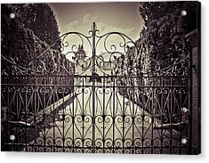My Home Is My Fortress Vintage Acrylic Print by Eti Reid