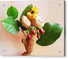 My Little Ginger Tree 2 Acrylic Print by Sarah Loft