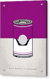 My Mario Warhols Minimal Can Poster-waluigi Acrylic Print by Chungkong Art