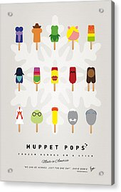 My Muppet Ice Pop - Univers Acrylic Print by Chungkong Art