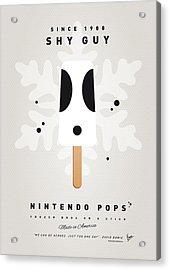 My Nintendo Ice Pop - Shy Guy Acrylic Print by Chungkong Art