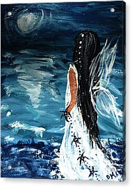 My Prayers Acrylic Print by Debbie May