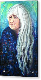 My Reflections Acrylic Print by Karen Roncari