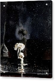 My Soul On Stage Acrylic Print by Petros Yiannakas