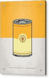 My Star Warhols 3cpo Minimal Can Poster Acrylic Print by Chungkong Art