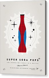 My Super Soda Pops No-02 Acrylic Print by Chungkong Art