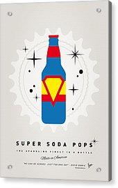 My Super Soda Pops No-05 Acrylic Print by Chungkong Art