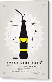 My Super Soda Pops No-07 Acrylic Print by Chungkong Art