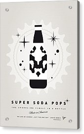 My Super Soda Pops No-12 Acrylic Print by Chungkong Art
