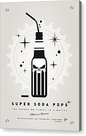 My Super Soda Pops No-15 Acrylic Print by Chungkong Art