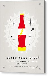 My Super Soda Pops No-18 Acrylic Print by Chungkong Art