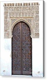 Myrtle Doorway Acrylic Print by Marion Galt