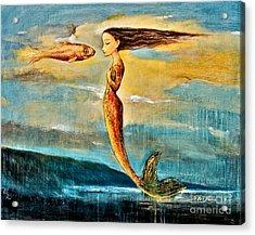 Mystic Mermaid IIi Acrylic Print by Shijun Munns