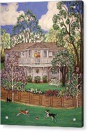 Nancy's House Acrylic Print by Linda Mears