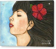 Nani Acrylic Print by Nora Blansett
