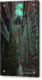 Narrow Street Acrylic Print by Jasna Buncic