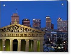 Nashville Parthenon Acrylic Print by Brian Jannsen