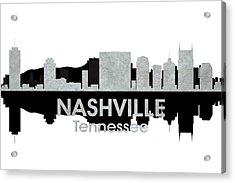 Nashville Tn 4 Acrylic Print by Angelina Vick