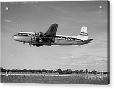 National Airlines Nal Douglas Dc-6 Acrylic Print by Wernher Krutein