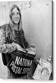 National Postal Service Acrylic Print by Underwood Archives