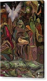 Nativity 1113 Acrylic Print by David Lane