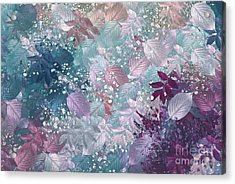 Naturaleaves - S1002b Acrylic Print by Variance Collections