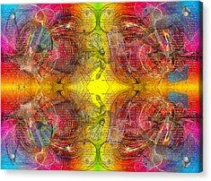 Nature Of Awareness Acrylic Print by Betsy Knapp