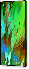 Natures Beauty Abstract Acrylic Print by John Malone