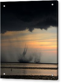 Natures Fury Acrylic Print by David Lee Thompson