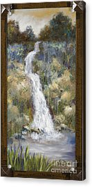 Nature's Own Acrylic Print by Vic  Mastis