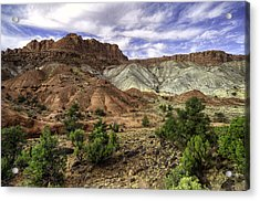 Natures Valley Acrylic Print by Stephen Campbell