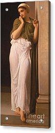 Nausicaa Acrylic Print by Frederic Leighton