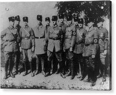 Nazi Party Headquarters Guard Acrylic Print by Everett