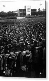 Nazi Party Rally In Nuremberg, November Acrylic Print by Everett
