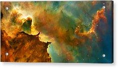 Nebula Cloud Acrylic Print by The  Vault - Jennifer Rondinelli Reilly