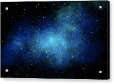 Nebula Mural Acrylic Print by Frank Wilson