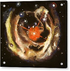 Nebula Acrylic Print by Sheila Diemert