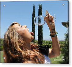 Necture Of The Gods...every Last Drop Acrylic Print by Pamela Walrath
