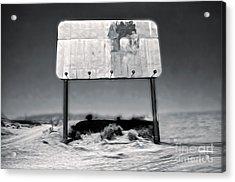 Needles Billboard Acrylic Print by Gregory Dyer