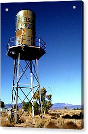Nelson Studio  Color - Lucerne Valley Acrylic Print by Glenn McCarthy Art and Photography