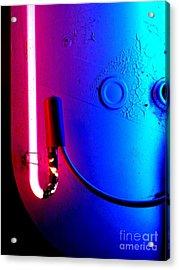 Neon Glow 2 Acrylic Print by Newel Hunter